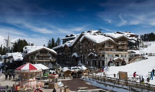 Luxury Oetker Collection hotel hitting the slopes of Courchevel, France