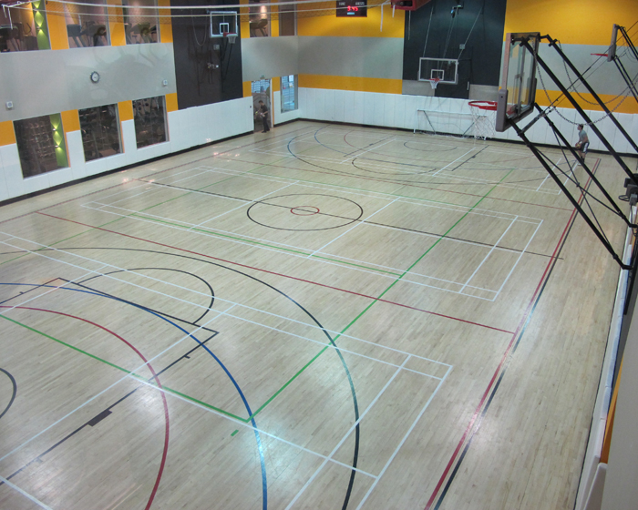 Gerflor completed a flooring installation at the Third Space Gym in London / Gerflor Group