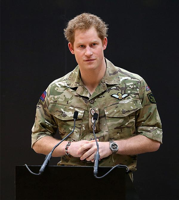 HRH Prince Harry, founder  and patron of Invictus Games