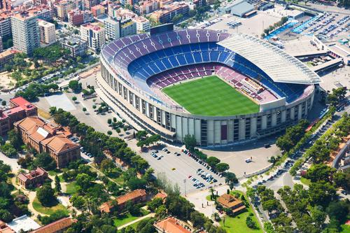 The larger Nou Espai Barça development will improve the entire campus, with further additions to the mixed-use development / Shutterstock.com