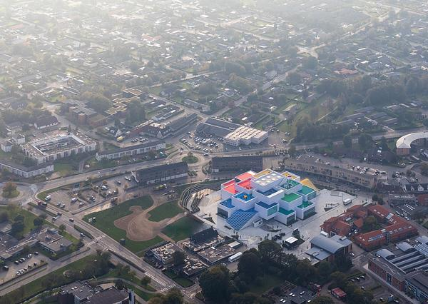 Lego House is in the heart of Billund, where the Lego brick was invented and is produced