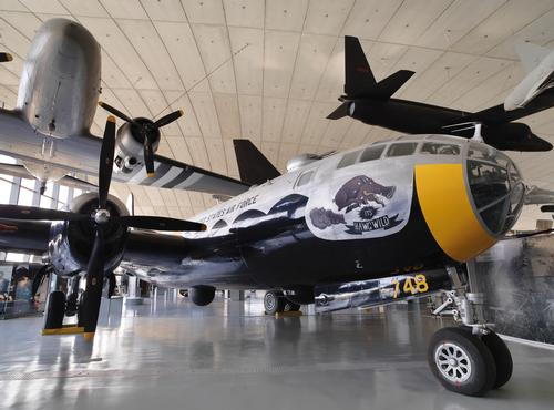 AAM stands as a memorial to the approximately 30,000 US airmen and women who were killed while serving from Great Britain during the Second World War / Imperial War Museum Duxford