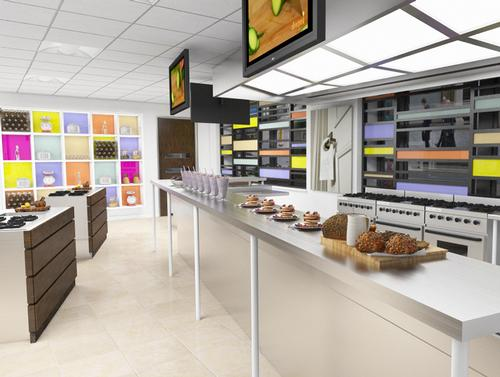 An artist impression of the kitchen planned for Hospitality House