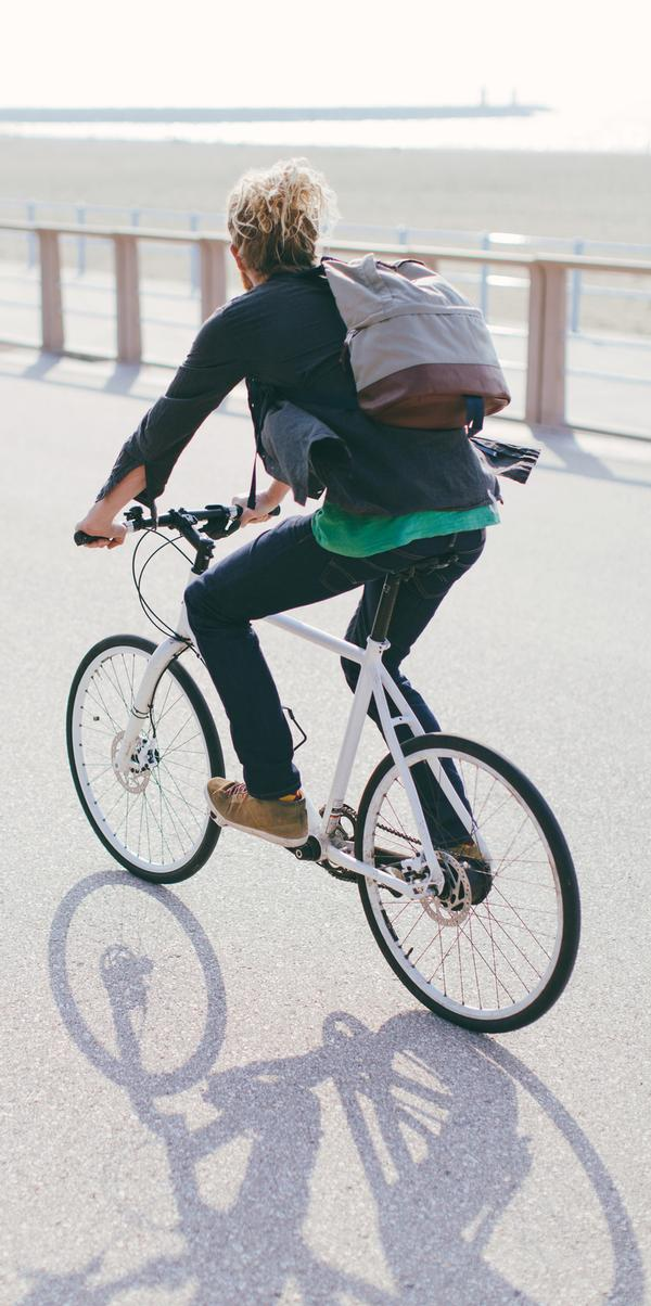 With free2cycle, individuals must commit to cycling 20 miles per week