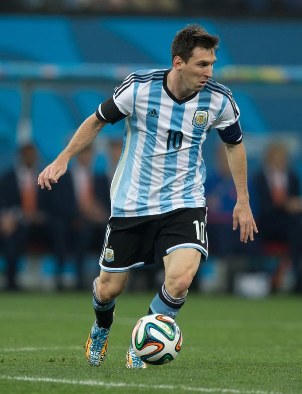 Many of the world's leading players, such as Lionel Messi, grew up playing futsal / PIC: ©www.shutterstock/ Celso Pupo