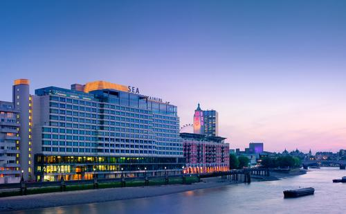 The hotel boasts an excellent location along London's River Thames / Morgans Hotel Group