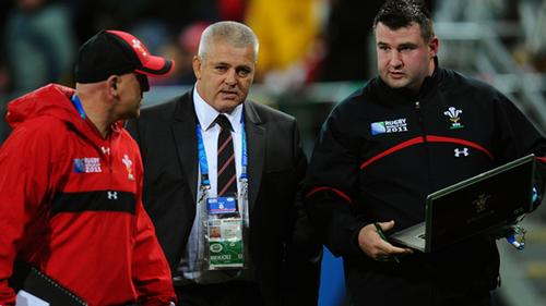 Long (right) joins the FA after nine years working with the Wales rugby union team / Football Association
