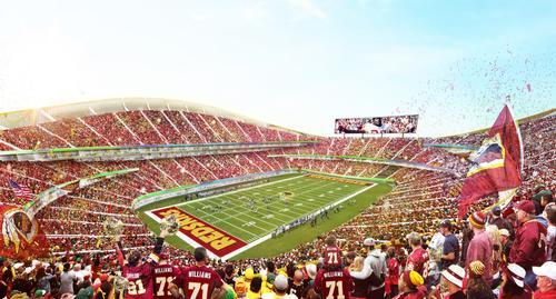 The Washington Redskins are a popular NFL franchise / BIG