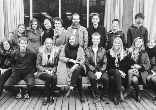 The designers are Masters students from the Oslo School of Architecture and Design / Scarcity and Creativity Studio