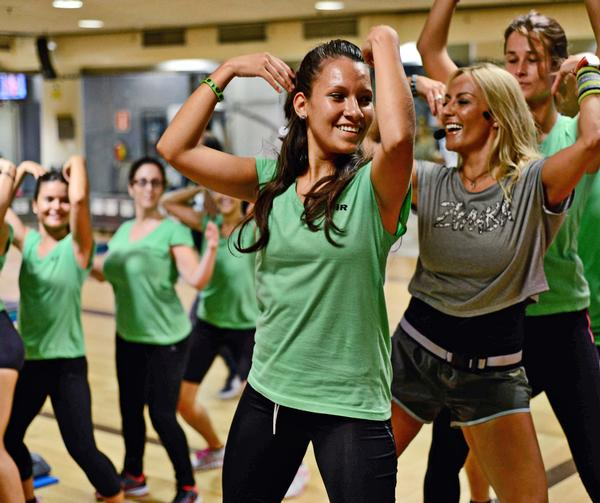 Working out is becoming the new, healthy way of going out with friends