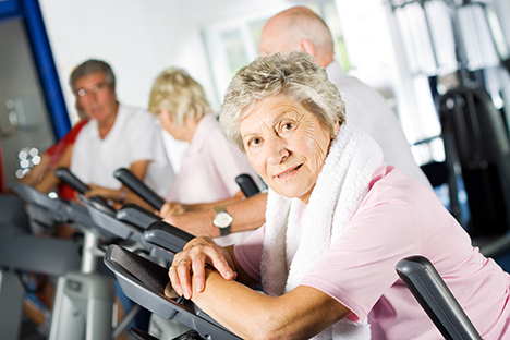 The women surveyed were more sensitive than men regarding the price of health club membership / photo: www.shutterstock.com/ Andrew Bassett