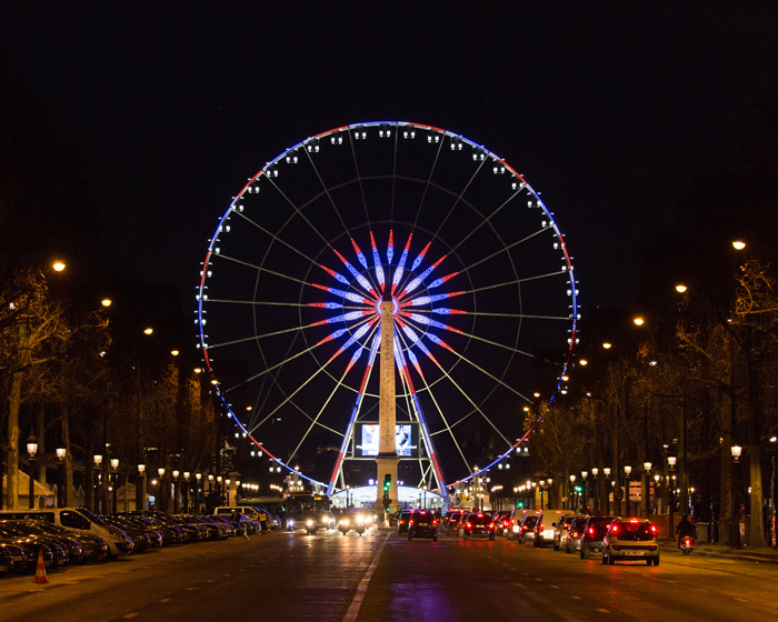 Spinning around: Mondial supplies new Giant Wheel for Paris tourist hotspot