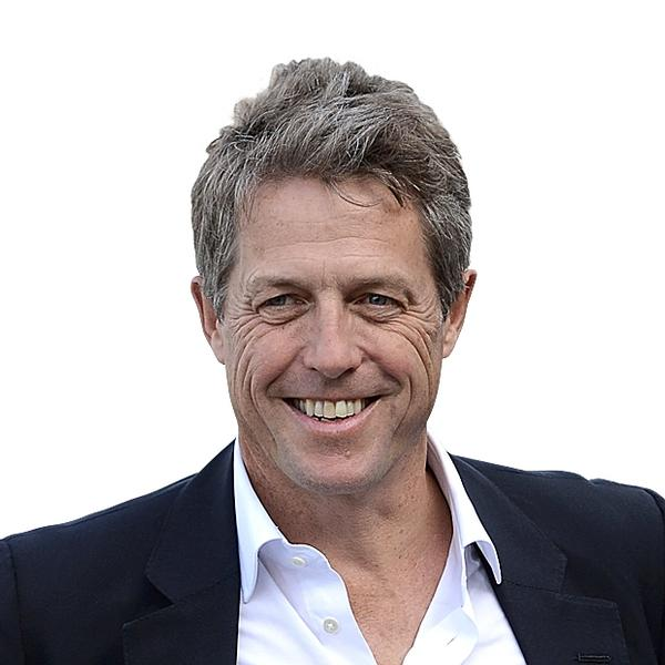 Actor Hugh Grant is 