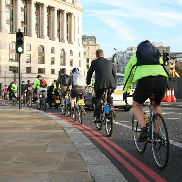 Reed has called for some of the government transport budget to be directed towards cycling