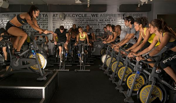 SoulCycle: Infectious enthusiasm among staff and riders
