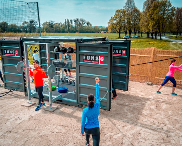 The FUNS-C is a mobile, multi-sport, multi-user training solution