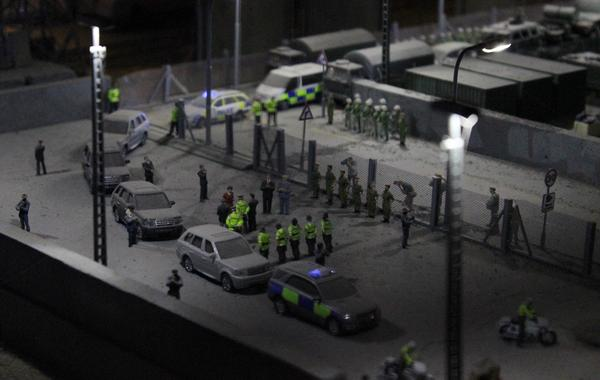 Jimmy Cauty's incredibly detailed dystopian model village