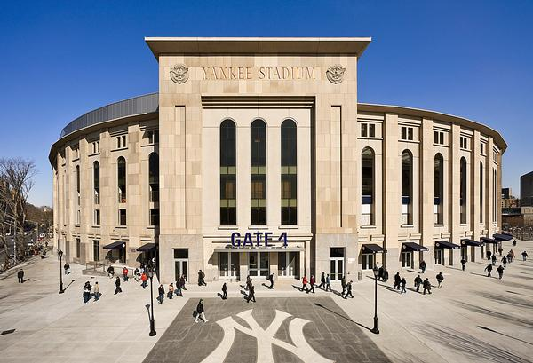 Santee says the Yankee Stadium, New York City captures the legacy of the Yankees