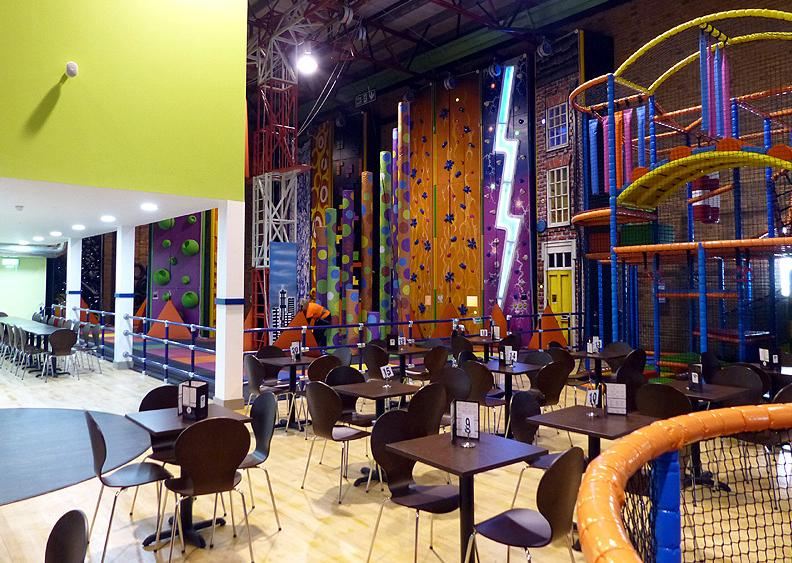Inverclyde Leisure introduced a number of additions to reinvent the leisure space