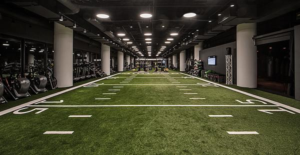 Facilities include a cardio fitness floor