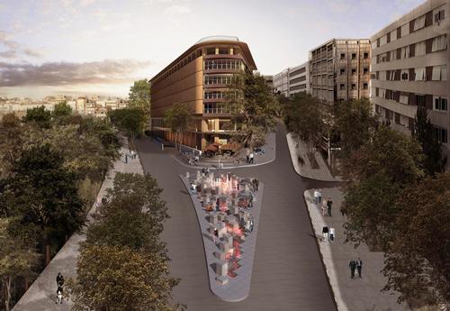 The St Regis Istanbul hotel, designed by EAA Emre Arolat Architects / Starwood