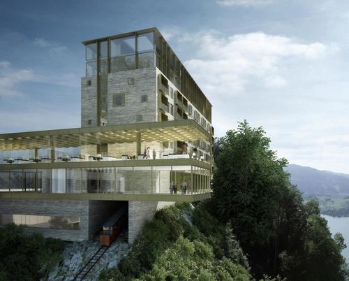 CHF485m Bürgenstock Resort in Switzerland will be complete by 2017