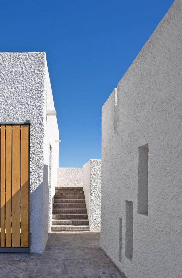 one of the roof terraces / Richard Davies