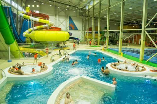 The waterpark opened to the public on 10 April