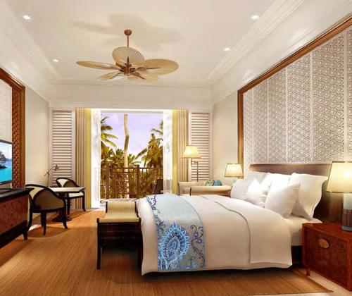 The beachfront resort will include 300 bedrooms – including 26 suites with private butler service