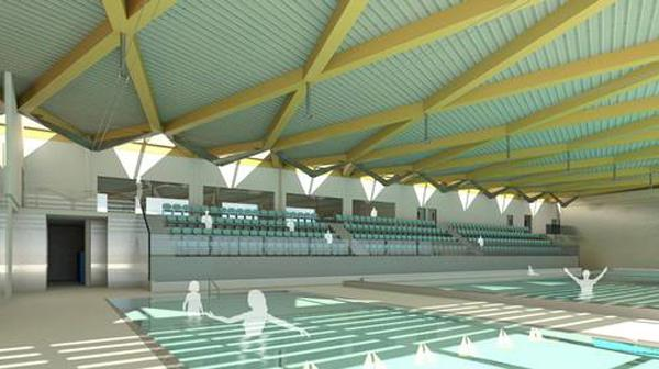 The new centre will offer a 25m, eight-lane swimming pool with learner pool