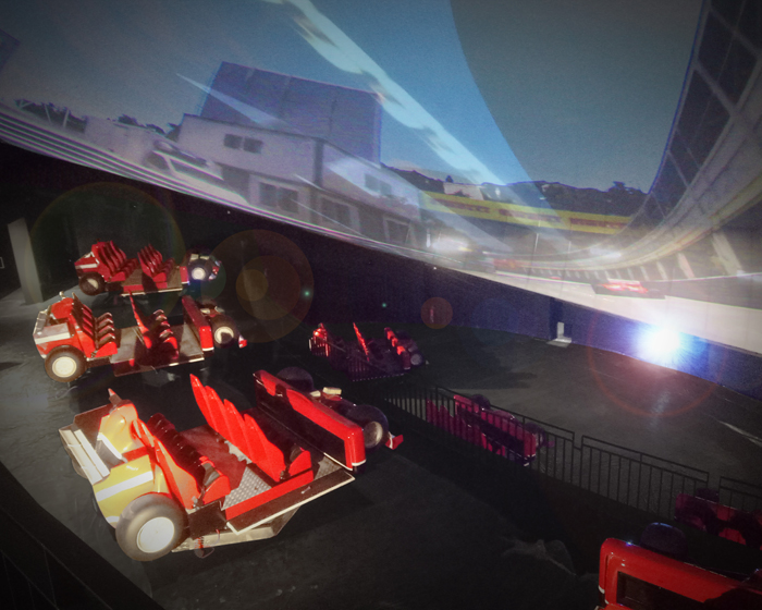 Racing Legends is an immersive experience that takes riders on a journey through time with Scuderia Ferrari