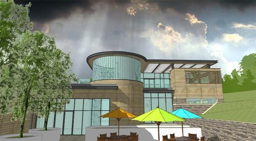 The 1,700sq m (18,299sq ft) spa will use the hotel's own in-house brand of natural products for treatments / Nettleton Group