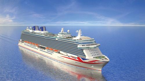 P&O cruise liner Britannia to debut next year with extra wellness elements aboard