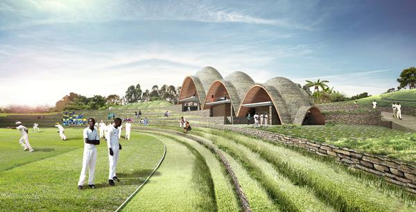 The new stadium has been designed with  sustainability and community in mind, providing a  home for cricket and a range of other sports