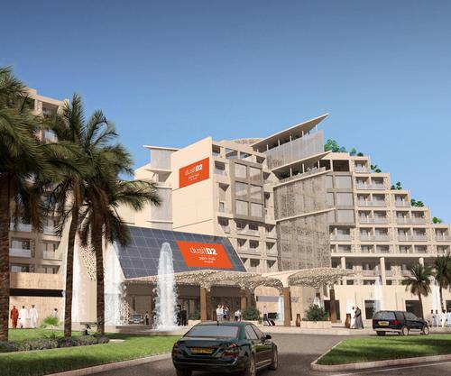 The dusitD2 Palm Mall Muscat will be located within a mixed-use development / Dusit International
