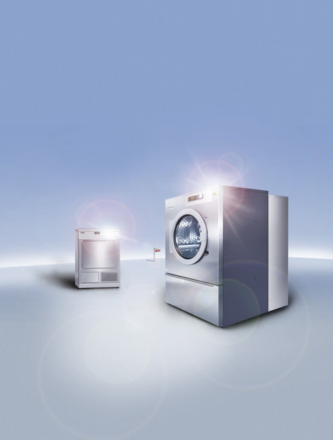Efficiency is at the heart of Miele's products