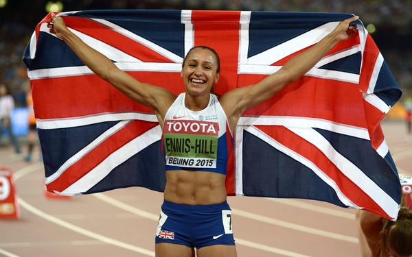 Jessica Ennis-Hill won the Sportswoman of the Year Award at the British Ethnic Diversity Sports Awards on 6 February 2016