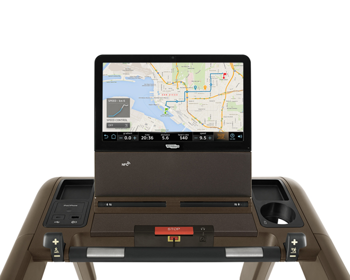 Technogym launches new app for Unity console