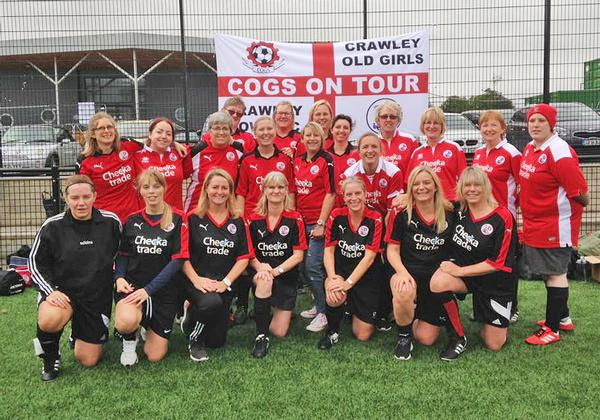 Since 2015, the Crawley Old Girls has enabled older women to learn to play football