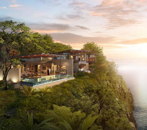 Situated within a forested setting, the resort will have 130 bedrooms and 50 residences designed by Dallas-based architects HKS