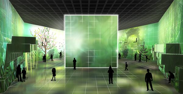 Programmable spaces become a 'living skin' at tech-led exhibits like E-mmersive in Singapore