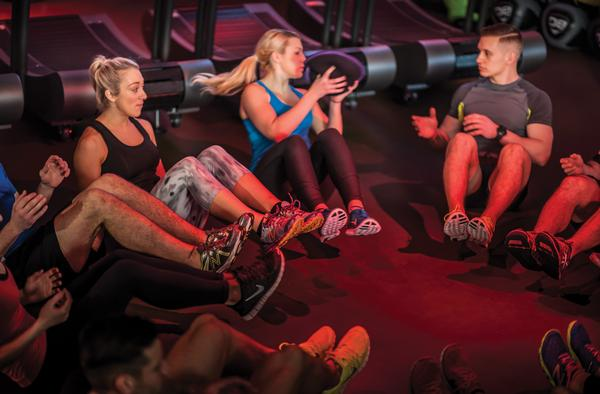BEAT offers five different training programmes which vary in intensity, from Move Better 65 to HIIT 90