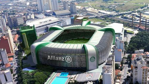The stadium is one of six Allianz-branded major sports venues in the world