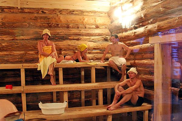 To Traditional Russian Baths And