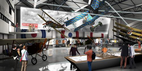 Royal Air Force Museum gains funding for major World War One exhibition
