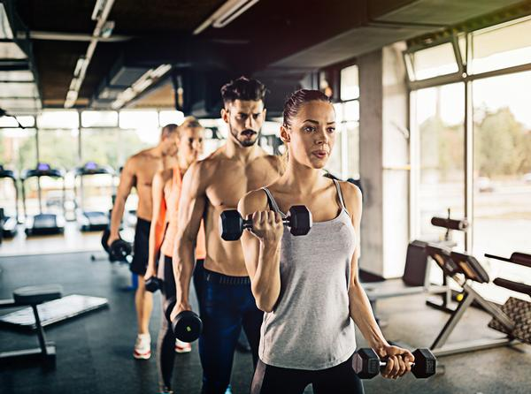 Gyms could partner with DNA experts to create 'test and prescribe' programming / PHOTO: shutterstock.com
