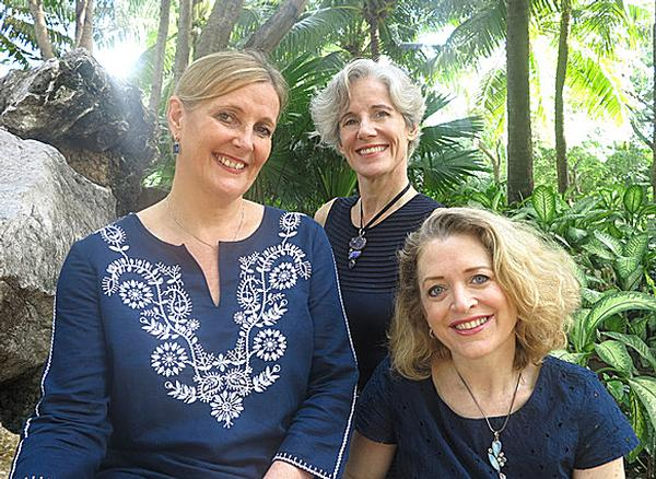 The DSM team, from left: Sharon Menzies, Joy Menzies, Samantha Foster