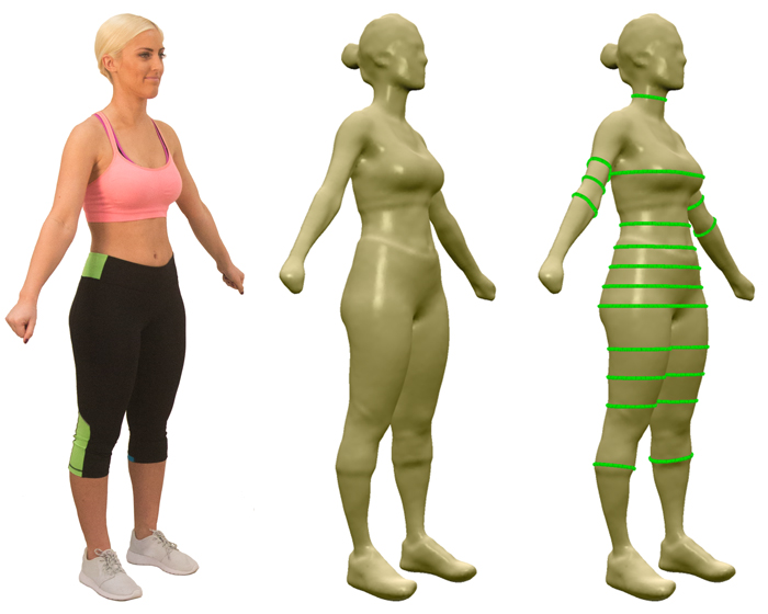 The Styku 3D Body Scanner looks set to transform the wellness therapist and client experience. / React Fitness