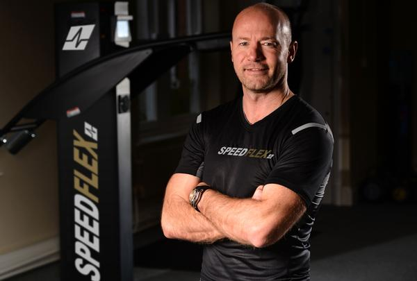 Shearer acts as the face of Speedlfex and is also an investor