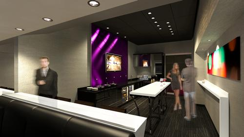 The arena has a range of luxury suites and boxes for Vegas high-flyers / Populous